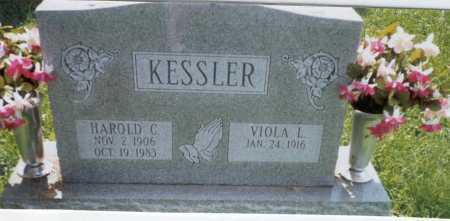 KESSLER, VIOLA L. - Franklin County, Ohio   VIOLA L. KESSLER - Ohio Gravestone Photos