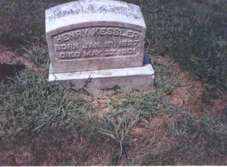 KESSLER, HENRY - Franklin County, Ohio   HENRY KESSLER - Ohio Gravestone Photos