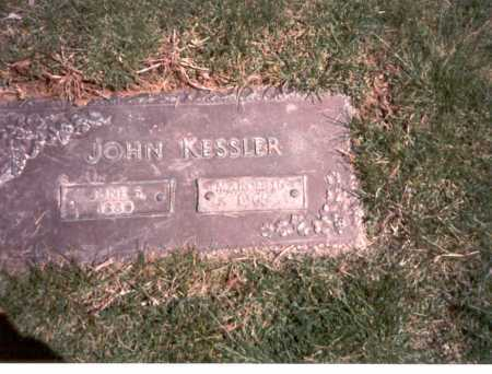 KESSLER, JOHN - Franklin County, Ohio | JOHN KESSLER - Ohio Gravestone Photos