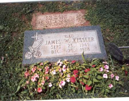 KESSLER, JAMES W. - Franklin County, Ohio   JAMES W. KESSLER - Ohio Gravestone Photos