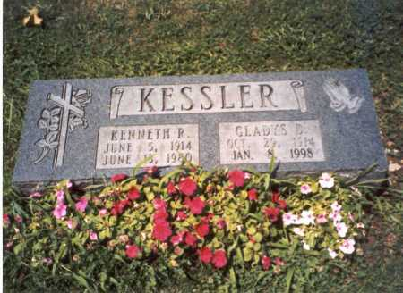 KESSLER, GLADYS D. - Franklin County, Ohio | GLADYS D. KESSLER - Ohio Gravestone Photos