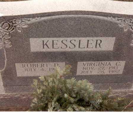 KESSLER, VIRGINIA - Franklin County, Ohio | VIRGINIA KESSLER - Ohio Gravestone Photos