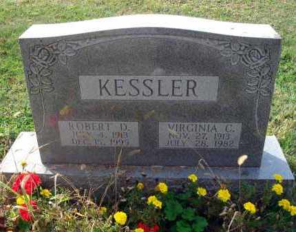 KESSLER, ROBERT D. - Franklin County, Ohio | ROBERT D. KESSLER - Ohio Gravestone Photos