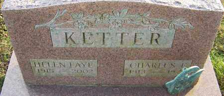 KETTER, CHARLES - Franklin County, Ohio   CHARLES KETTER - Ohio Gravestone Photos