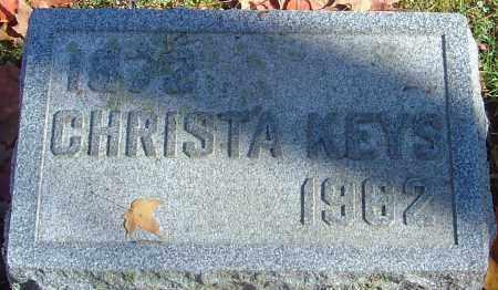 KEYS, CHRISTA B - Franklin County, Ohio | CHRISTA B KEYS - Ohio Gravestone Photos