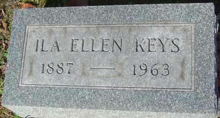 KEYS, ILA ELLEN - Franklin County, Ohio | ILA ELLEN KEYS - Ohio Gravestone Photos