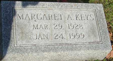 KEYS, MARGARET A - Franklin County, Ohio | MARGARET A KEYS - Ohio Gravestone Photos