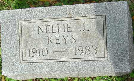 KEYS, NELLIE J - Franklin County, Ohio   NELLIE J KEYS - Ohio Gravestone Photos