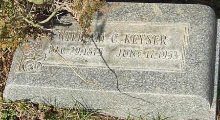 KEYSER, WILLIAM C - Franklin County, Ohio | WILLIAM C KEYSER - Ohio Gravestone Photos