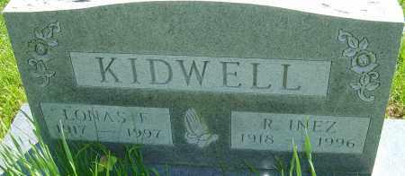 KIDWELL, LONAS E - Franklin County, Ohio | LONAS E KIDWELL - Ohio Gravestone Photos