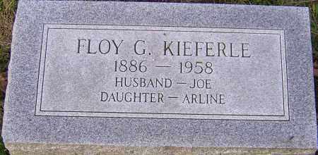 KIEFERLE, FLOY - Franklin County, Ohio   FLOY KIEFERLE - Ohio Gravestone Photos