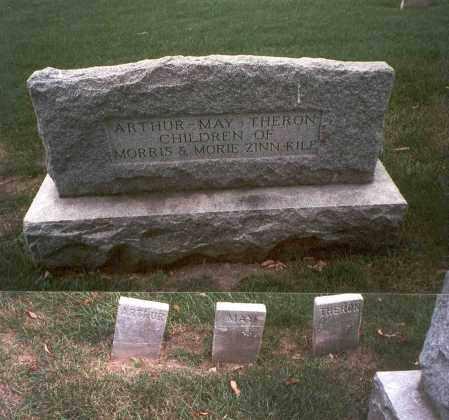KILE, THERON - Franklin County, Ohio | THERON KILE - Ohio Gravestone Photos