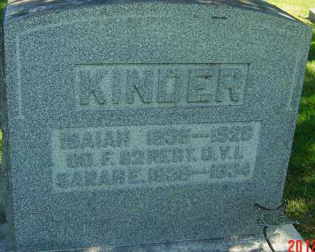 MYERS KINDER, SARA ELIZABETH - Franklin County, Ohio | SARA ELIZABETH MYERS KINDER - Ohio Gravestone Photos