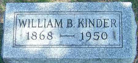 KINDER, WILLIAM BURTNETT - Franklin County, Ohio | WILLIAM BURTNETT KINDER - Ohio Gravestone Photos