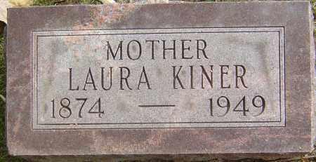 KINER, LAURA - Franklin County, Ohio | LAURA KINER - Ohio Gravestone Photos