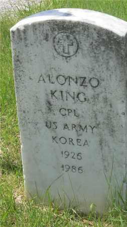 KING, ALONZO - Franklin County, Ohio   ALONZO KING - Ohio Gravestone Photos