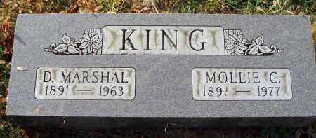 KING, D. MARSHAL - Franklin County, Ohio | D. MARSHAL KING - Ohio Gravestone Photos