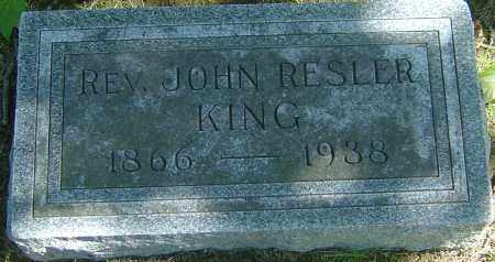 KING, JOHN RESLER - Franklin County, Ohio | JOHN RESLER KING - Ohio Gravestone Photos
