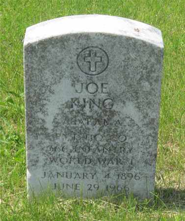 KING, JOE - Franklin County, Ohio | JOE KING - Ohio Gravestone Photos