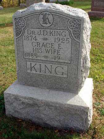 KING, GRACE E. - Franklin County, Ohio | GRACE E. KING - Ohio Gravestone Photos