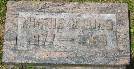 KING, MINNIE M - Franklin County, Ohio | MINNIE M KING - Ohio Gravestone Photos