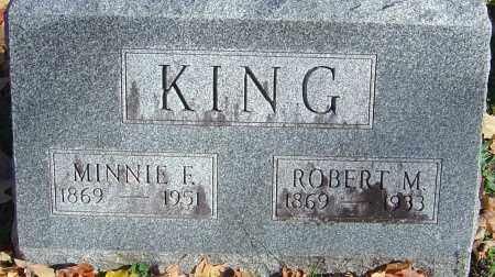 WINSCOTT KING, MINNIE F - Franklin County, Ohio | MINNIE F WINSCOTT KING - Ohio Gravestone Photos