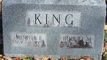 KING, ROBERT M - Franklin County, Ohio | ROBERT M KING - Ohio Gravestone Photos