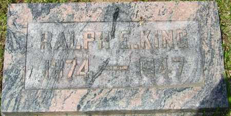 KING, RALPH EUGENE - Franklin County, Ohio | RALPH EUGENE KING - Ohio Gravestone Photos