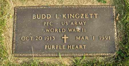 KINGZETT, BUDD L. - Franklin County, Ohio   BUDD L. KINGZETT - Ohio Gravestone Photos