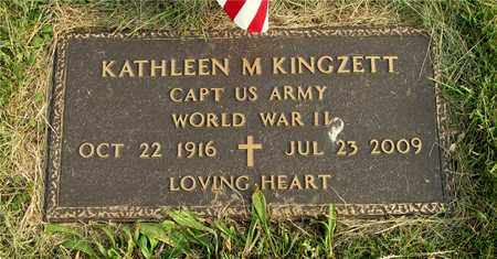 KINGZETT, KATHLEEN M. - Franklin County, Ohio   KATHLEEN M. KINGZETT - Ohio Gravestone Photos