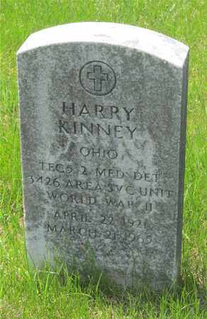 KINNEY, HARRY - Franklin County, Ohio | HARRY KINNEY - Ohio Gravestone Photos