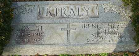 TOROK KIRALY, IRENE THERESA - Franklin County, Ohio | IRENE THERESA TOROK KIRALY - Ohio Gravestone Photos