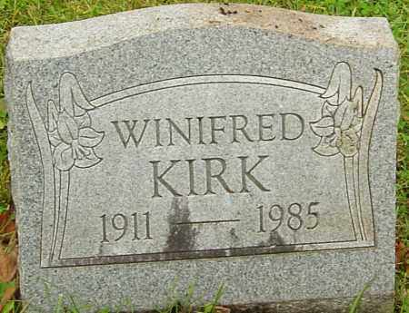 KIRK, WINIFRED - Franklin County, Ohio | WINIFRED KIRK - Ohio Gravestone Photos