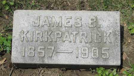 KIRKPATRICK, JAMES B. - Franklin County, Ohio | JAMES B. KIRKPATRICK - Ohio Gravestone Photos