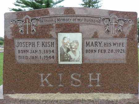 KISH, JOSEPH F. - Franklin County, Ohio | JOSEPH F. KISH - Ohio Gravestone Photos