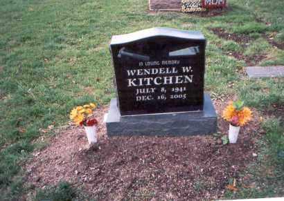 KITCHEN, WENDELL W. - Franklin County, Ohio | WENDELL W. KITCHEN - Ohio Gravestone Photos