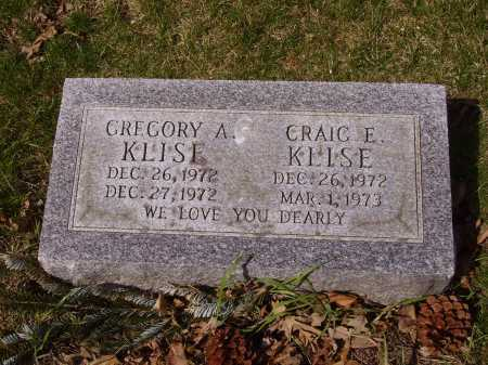 KLISE, GREGORY A. - Franklin County, Ohio | GREGORY A. KLISE - Ohio Gravestone Photos