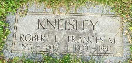 KNEISLEY, FRANCES - Franklin County, Ohio | FRANCES KNEISLEY - Ohio Gravestone Photos