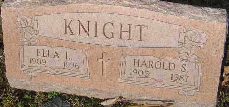 KNIGHT, HAROLD S - Franklin County, Ohio | HAROLD S KNIGHT - Ohio Gravestone Photos
