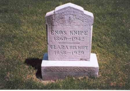 KNIPE, CLARA JANE - Franklin County, Ohio | CLARA JANE KNIPE - Ohio Gravestone Photos