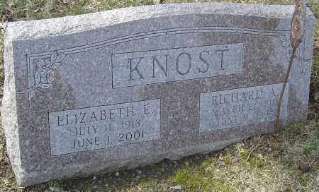 CARTER KNOST, ELIZABETH - Franklin County, Ohio | ELIZABETH CARTER KNOST - Ohio Gravestone Photos