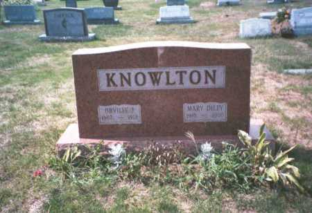 KNOWLTON, ORVILLE J. - Franklin County, Ohio | ORVILLE J. KNOWLTON - Ohio Gravestone Photos