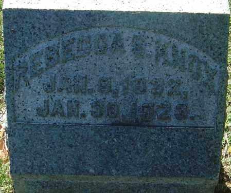 KNOX, REBECCA - Franklin County, Ohio   REBECCA KNOX - Ohio Gravestone Photos