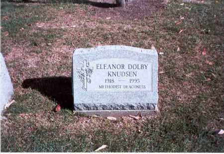 DOLBY KNUDSEN, ELEANOR - Franklin County, Ohio | ELEANOR DOLBY KNUDSEN - Ohio Gravestone Photos