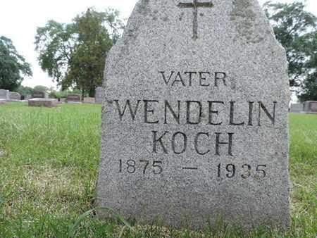 KOCH, WENDELIN - Franklin County, Ohio | WENDELIN KOCH - Ohio Gravestone Photos