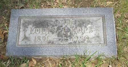 KOLB, LOUIS J. - Franklin County, Ohio | LOUIS J. KOLB - Ohio Gravestone Photos
