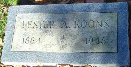 KOONS, LESTER ALETON - Franklin County, Ohio   LESTER ALETON KOONS - Ohio Gravestone Photos