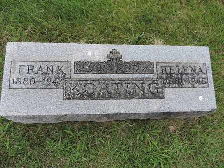 KORTING, HELENA - Franklin County, Ohio | HELENA KORTING - Ohio Gravestone Photos