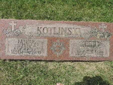 KOTLINSKI, MARY A. - Franklin County, Ohio | MARY A. KOTLINSKI - Ohio Gravestone Photos