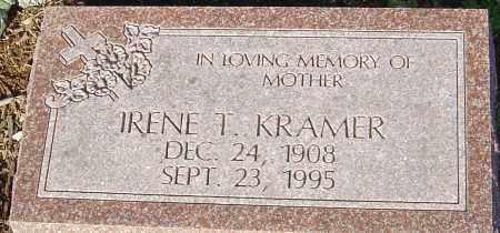 KRAMER, IRENE T - Franklin County, Ohio   IRENE T KRAMER - Ohio Gravestone Photos